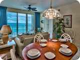 dining room off kitchen with oceanviews