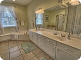 gorgeous master bath off king suite