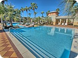 Your lagoon pool just off your back door. We are 1 of 10 homes on the pool