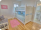 upstairs kids bunk room with full bath and sitting area, Yes, pamper the kids