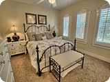 Plantation shutters in every room
