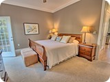 Gorgeous first floor King Suite with full bath and walk out to private porch